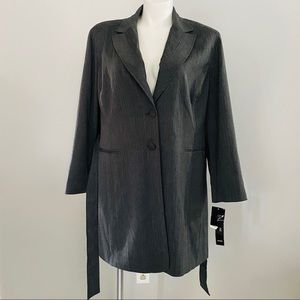 Larry Levine Woman's Gray Jacket